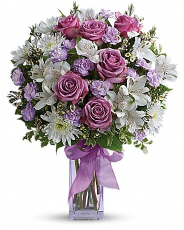 Lavender Laughter Bouquet Bouquet