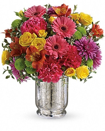 Teleflora's Pleased As Punch Bouquet Bouquet