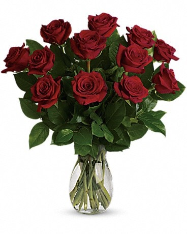 My True Love Bouquet with Medium Stemmed Roses Bouquet