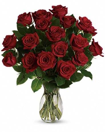 V Day My True Love Bouquet with Long Stemmed Roses Bouquet