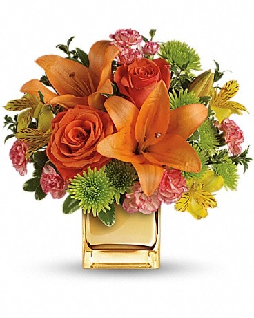Teleflora's Tropical Punch Bouquet - by Lary's Flo Bouquet