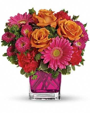 Teleflora's Turn Up The Pink Bouquet (TEV33-1A) Bouquet