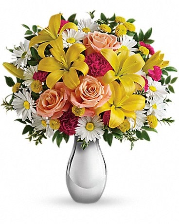 Just Tickled Bouquet by Teleflora Bouquet