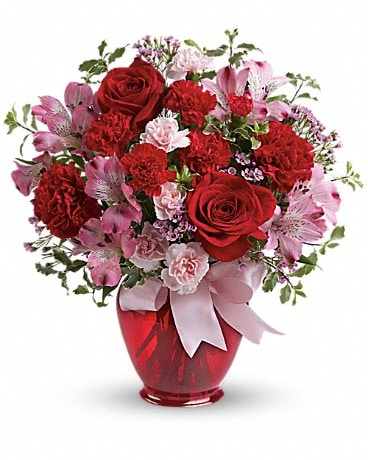 Teleflora's Blissfully Yours Bouquet Bouquet