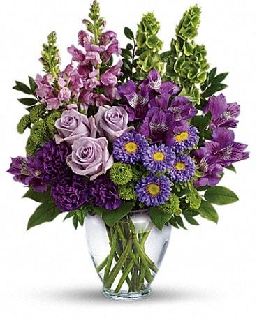 Lavender Charm Bouquet Bouquet