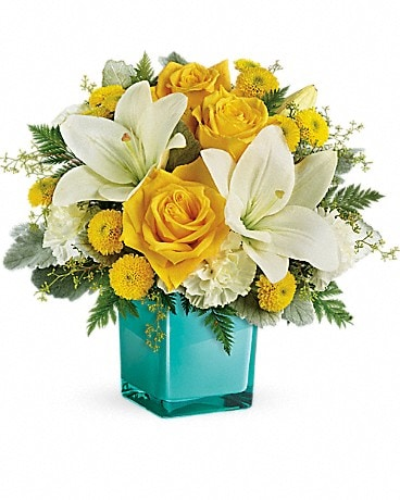 Teleflora's Golden Laughter Bouquet -#TEV46-1A Bouquet