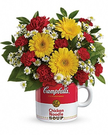 Campbell's? Healthy Wishes by Teleflora  Bouquet