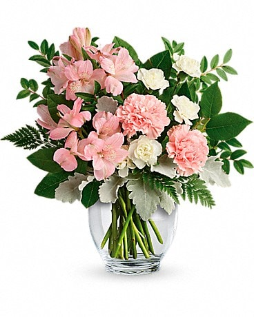 Teleflora's Whisper Soft Bouquet TEV55-3A Bouquet