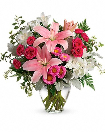 Blush Rush Bouquet (TEV55-5A) Bouquet