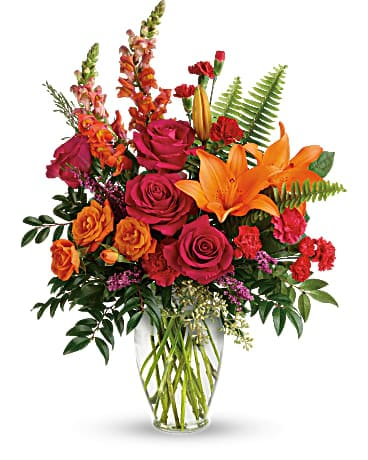Punch Of Color Bouquet Bouquet