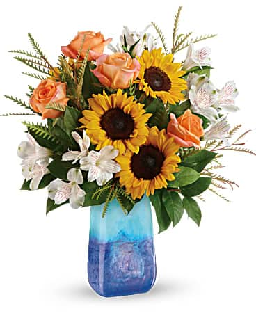 Beauté bouquet de tournesol de de Teleflora
