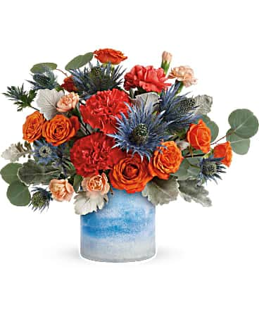 Blue Sunset Bouquet Bouquet