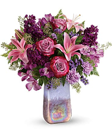 Amethyst Jewel Bouquet Bouquet