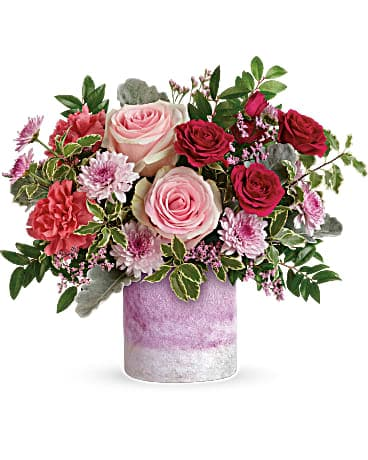 Watercolor Pinks Bouquet Bouquet