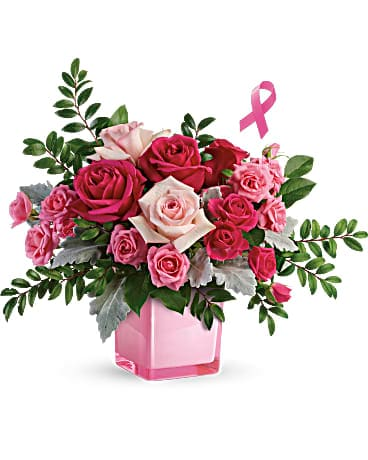 Teleflora's Pink Power Bouquet Bouquet