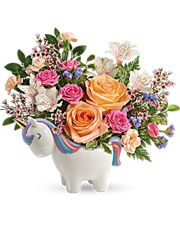 Teleflora's Magical Garden Unicorn Bouquet