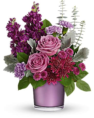 Teleflora's Always Amethyst Bouquet
