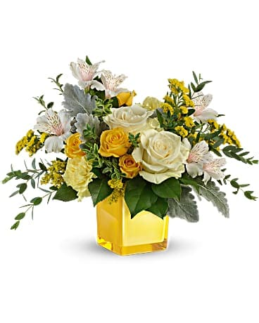 Sweet Sunlight Cube Bouquet