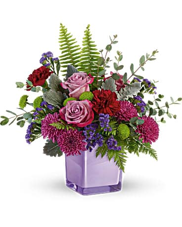 Purple Serenity Bouquet Bouquet