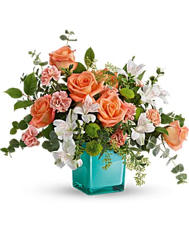 Teleflora's Sunset Splash Bouquet Bouquet
