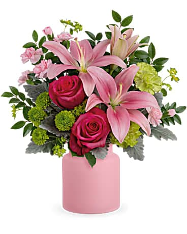 Teleflora's Savannah Blush Bouquet Bouquet