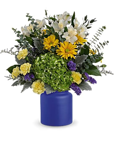 Teleflora's Sunrise At Sea Bouquet Bouquet