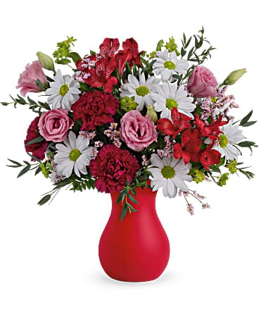 Kissed With Crimson Bouquet Bouquet