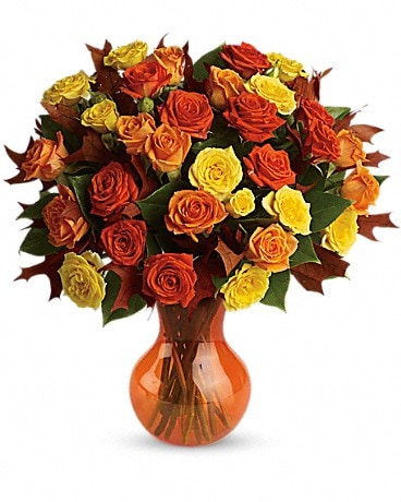 Teleflora's Fabulous Fall Roses Bouquet