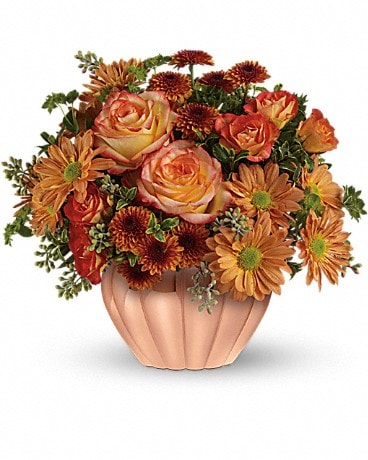 Teleflora's Joyful Hearth Bouquet Flower Arrangement