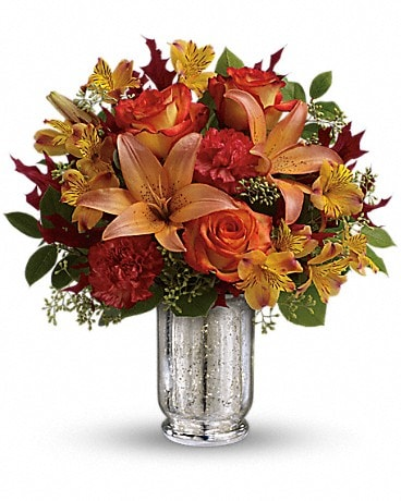 Teleflora's Fall Blush Bouquet Bouquet