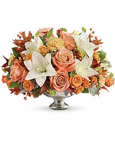 Harvest Shimmer Centerpiece Bouquet