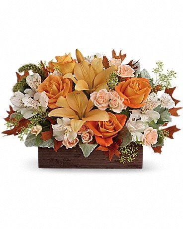 Teleflora's Fall Chic Bouquet (TFL10-3A)