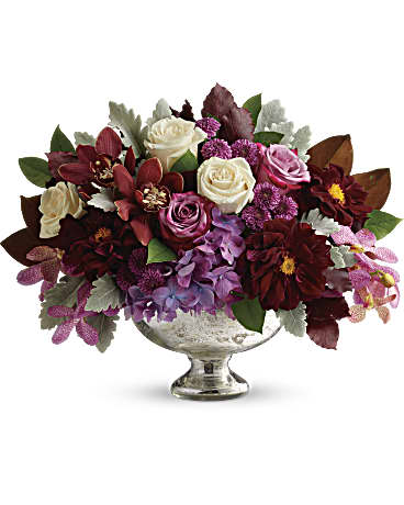 Teleflora's Beautiful Harvest Centerpiece Flower Arrangement