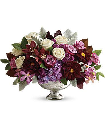 Teleflora's Beautiful Harvest Centerpiece Flower Arrangement ...