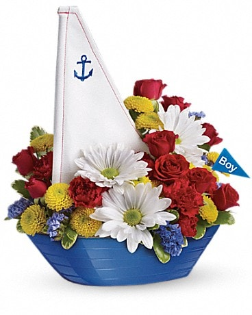 Teleflora S Little Dreamboat Bouquet In Denham Springs La