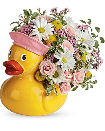 Edelweiss' Sweet Little Ducky Bouquet Bouquet
