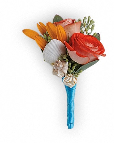 Sunset Magic Boutonniere Boutonniere