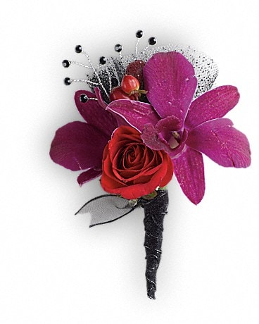 Celebrity Style Boutonniere Boutonniere