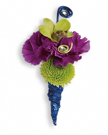 Evening Electric Boutonniere Boutonniere