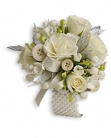 All Buttoned Up Corsage Corsage