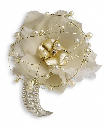 Shimmering Pearls Corsage Corsage