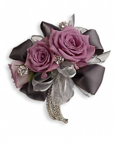 Roses And Ribbons Corsage Corsage