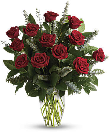Eternal Love Bouquet - Red Roses