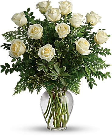 Joy Of White Roses Bouquet Bouquet