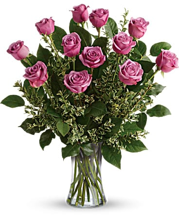 Hey Gorgeous Hot Pink Roses Bouquet Bouquet
