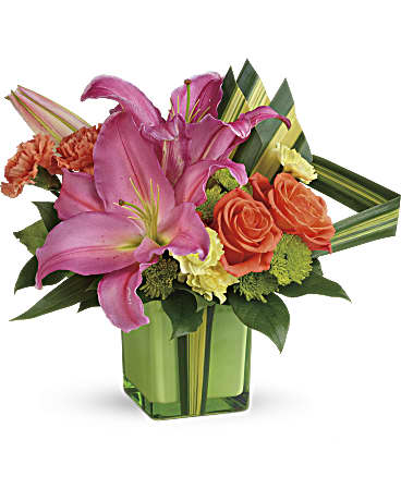 de Teleflora me colorent bouquet mignon bouquet