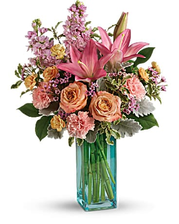 Teleflora's Pretty And Posh Bouquet Bouquet