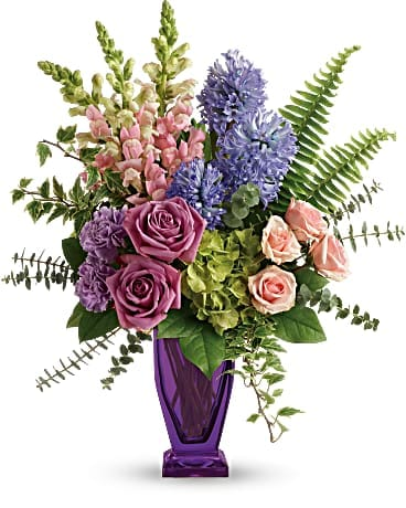 Teleflora's Painterly Pastels TSP08-1A Bouquet