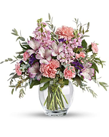 House of Flora's Pretty Pastel Bouquet Bouquet