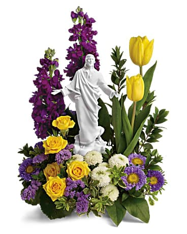 Sacred Grace Bouquet Flower Arrangement